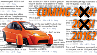 Elio Motors Pushed Its Release Date Back A Year And People Are Pissed