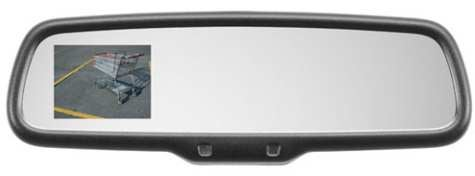 Watch Out for the Tree! Mazda CX-9 to Get Rearview-Mounted LCD Display
