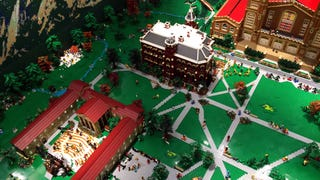 This 500k piece diorama of the CU-Boulder campus is amazing