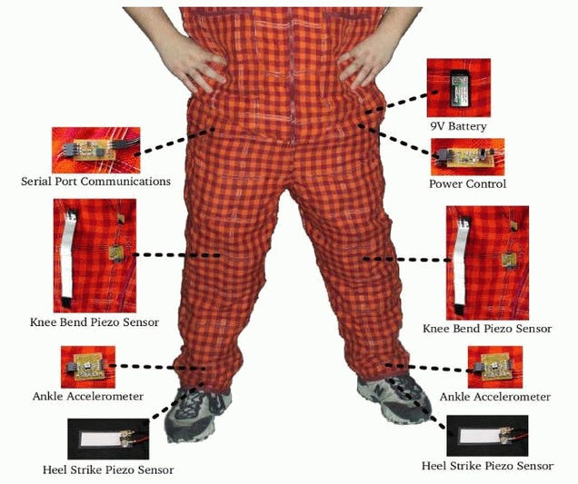 Sensor-Packed Pajama Pants Analyze Grandpa's Walk For Potential Falls