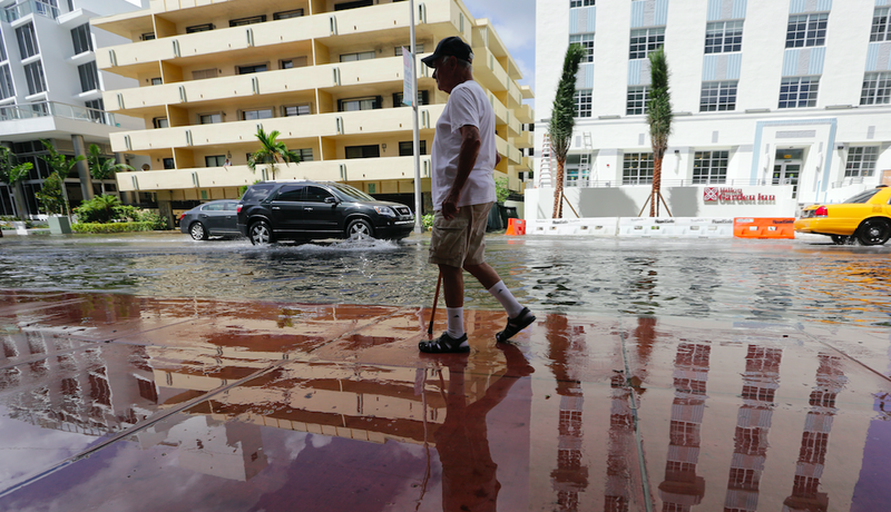 Miami's Already Drowning Due to Sea Level Rise