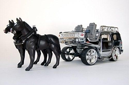 Horse Drawn Hummer
