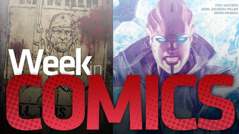 These Are the Most Interesting New Comic Books This Week, with a Dash of Valve and a Sprinkling of Mass Effect