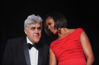 Leno Recycled His Bad Jokes for the White House Correspondents' Dinner