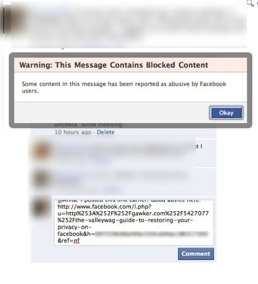 Blocked on Facebook: Gawker Facebook Privacy Guide
