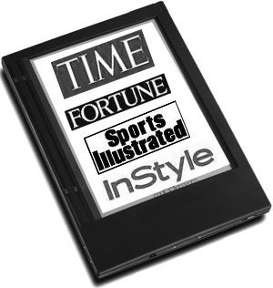 Time Inc. Launching Ebook Reader Within 3 Months?