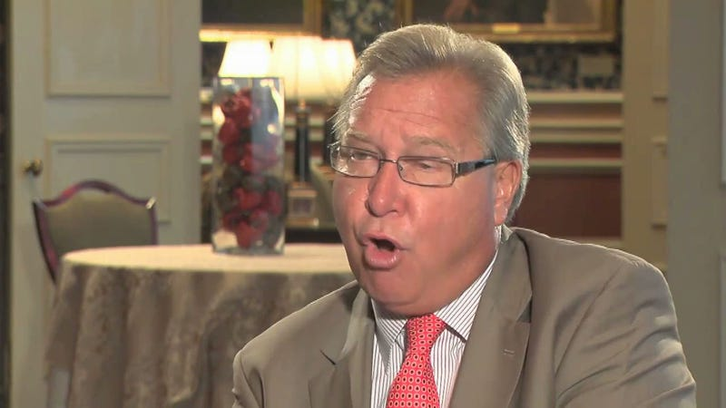 Ron Jaworski Gets Booted From The Monday Night Football Booth. THIS GUY IS HAPPY!