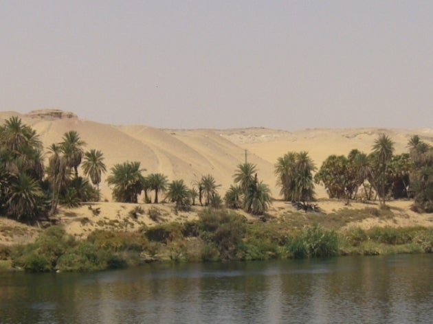 Arid Egyptian desert was once home to mega-lake teeming with life