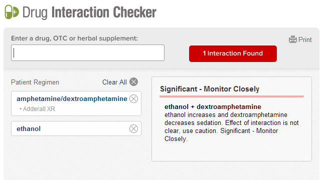 Medscape Drug Interaction Checker Flags Potentially Bad Drug Combos