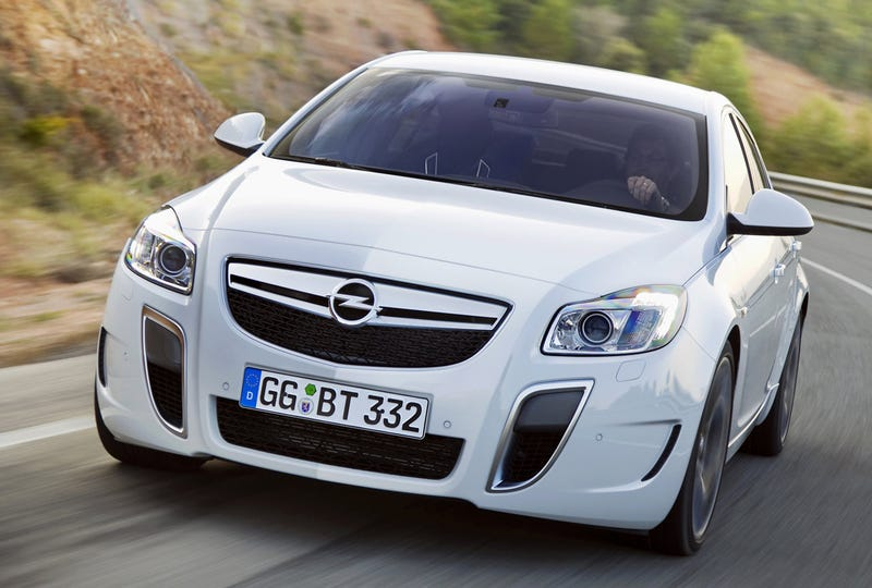 2010 Opel Insignia OPC, Vauxhall VXR Gunning For Audi S4