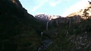 Un excursionista graba el momento exacto de la erupción del Calbuco