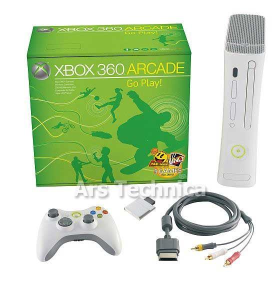 Leaked Xbox 360 Arcade Product Shot