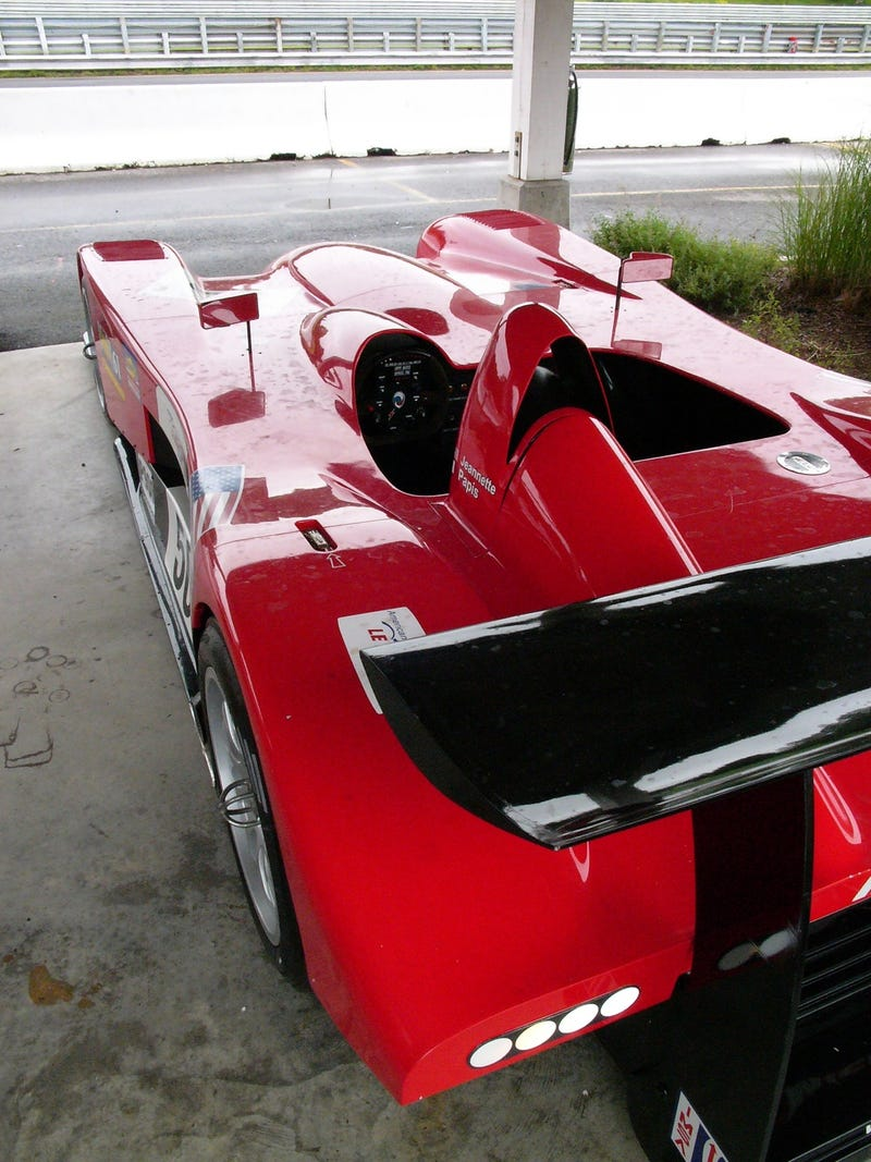 The Panoz Batmobile in the Front-Engined Flesh
