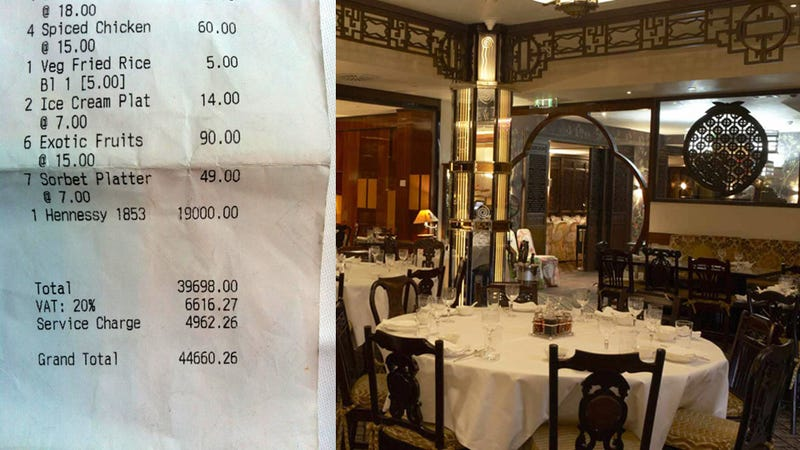 Here's the Restaurant Where Olympic Officials Allegedly Rang Up a $70,000 Tab