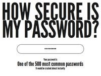 Test Your Password Strength at How Secure Is My Password