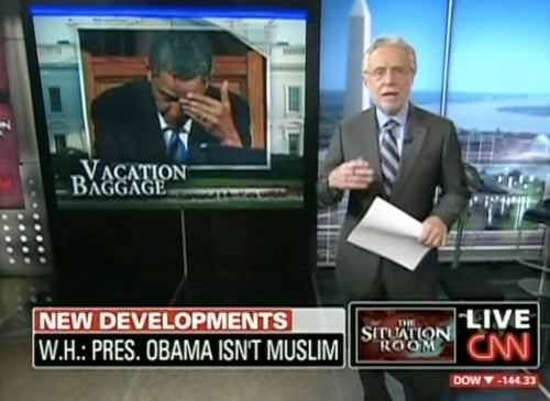 BREAKING: CNN Learns That Barack Obama Is Not a Muslim