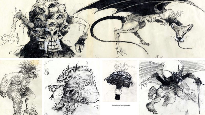 Absolutely Stunning Concept Art from Ralph Bakshi's Animated Lord of the Rings