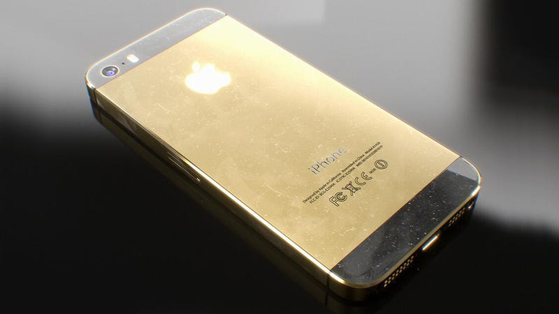 Who the hell would buy a gold iPhone but a Russian street crook?
