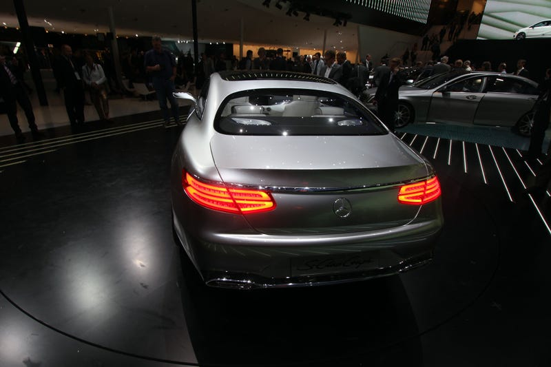 The Mercedes S-Class Coupé Concept Is Like A 455 HP Tsunami Of Luxury