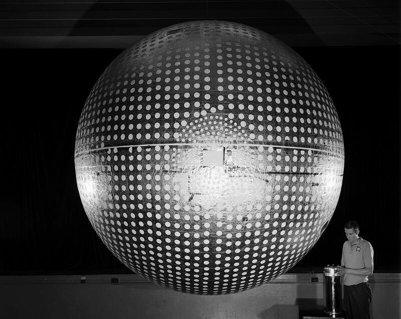 Explorer 24: The Death Star Disco Ball Satellite
