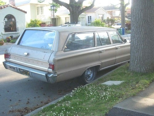 1967 Plymouth Belvedere Wagon Down On The Alameda Street