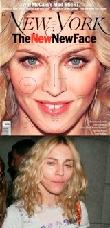 Madonna's New Face To Destroy Us All