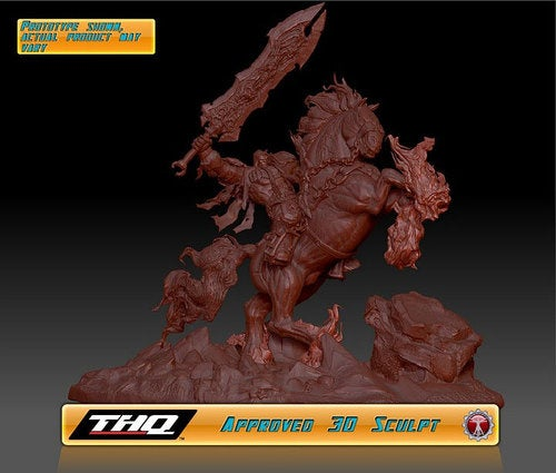 Darksiders Gets A Statue, Here's Your First Look