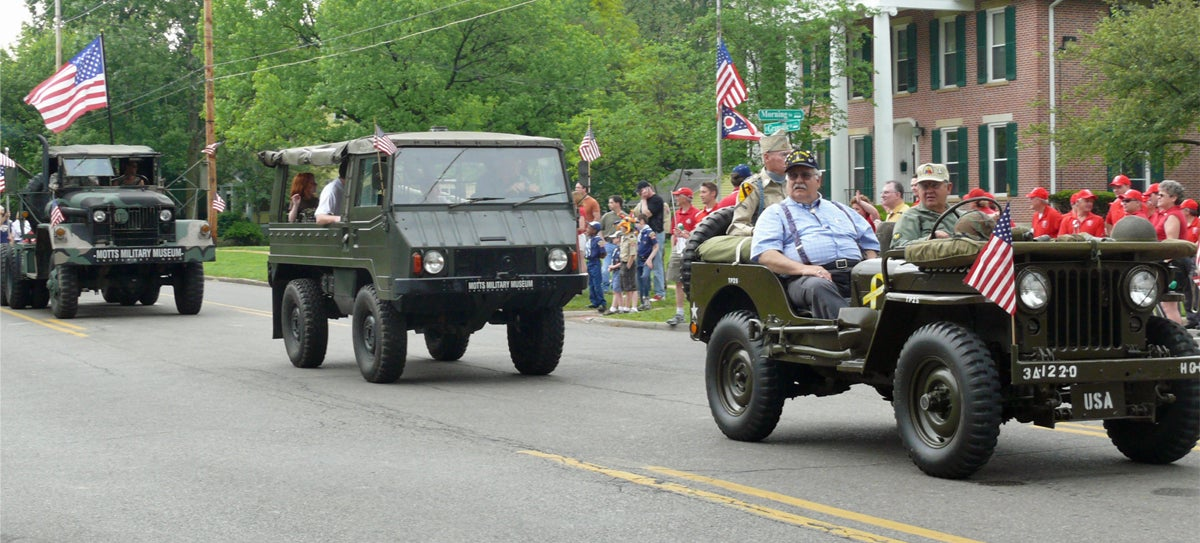 Whose Town Has The Best Memorial Day Parade Vehicles?