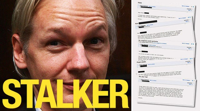 The Creepy, Lovesick Emails of Julian Assange