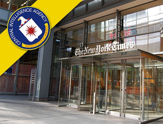 Ex-CIA Officer Indicted for Leaking Classified Info to New York Times Reporter