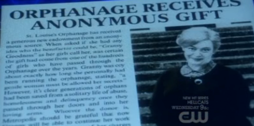 Smallville gives us Granny Goodness and her orphanage of Female Furies!