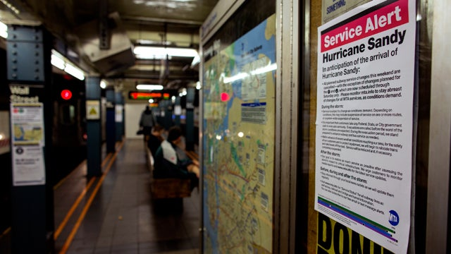 Public Transportation Shut Down in New York as East Coast Inches Closer to Apocalypse
