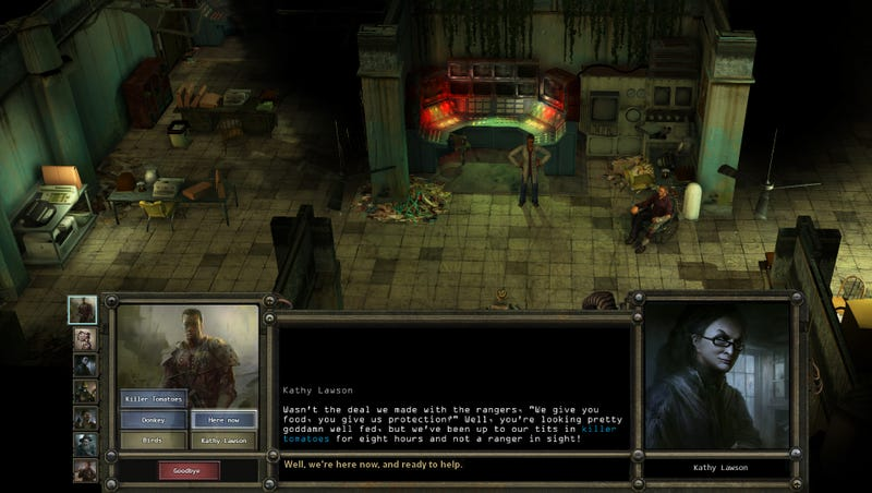 A Fan Vastly Improved Wasteland 2's Dialog Screen