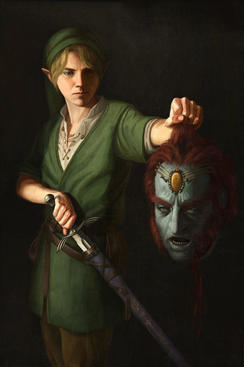 The Legend of Zelda As Renaissance Art
