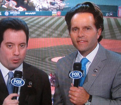 Eric Karros Shows Off His Magical Combover Merkin