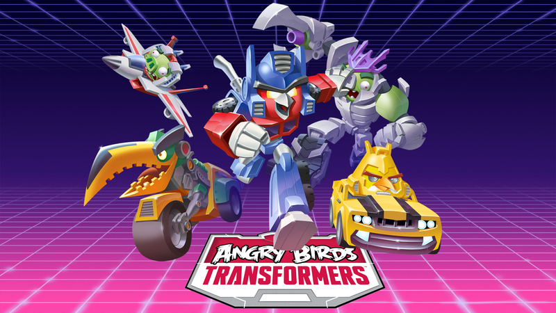 Nevermind Unicron, Angry Birds Transformers Is Coming