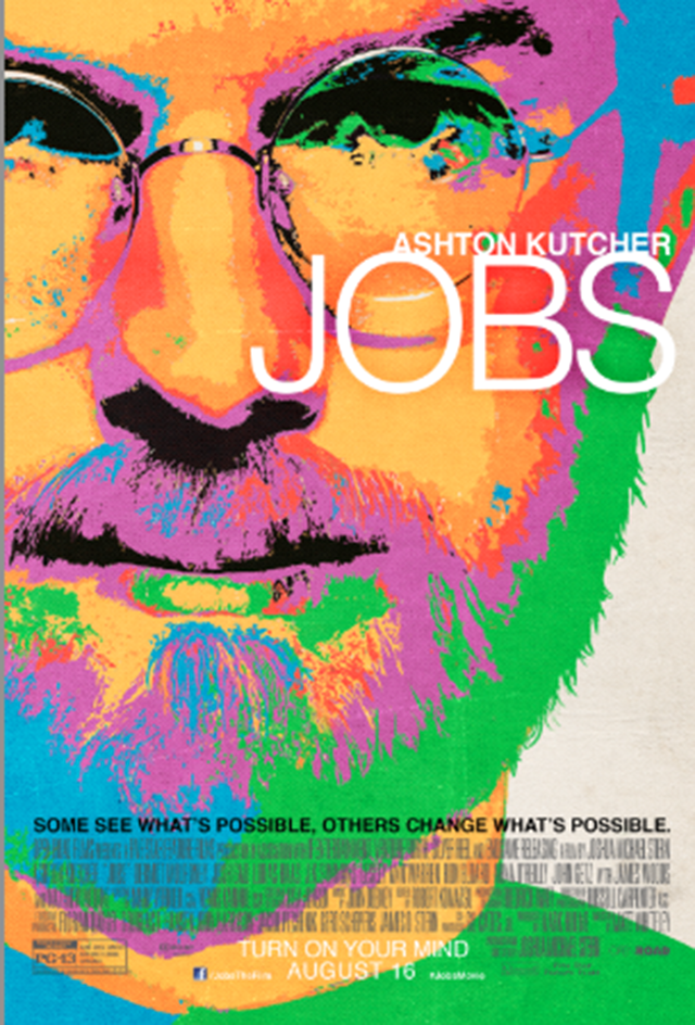 This Is the Poster for the Ashton Kutcher Steve Jobs Biopic