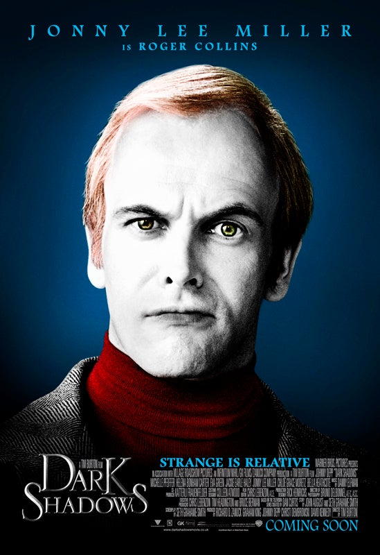 Dark Shadows Character Posters