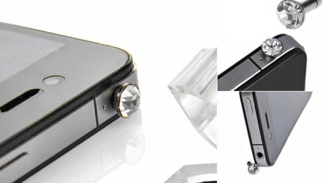 What the Hell Is a Crystal Dust Plug for Your Phone?