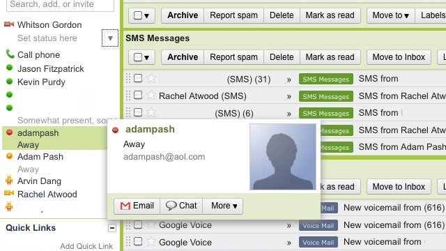 GTalk's AIM Integration is Unofficially Live [Updated: Official]