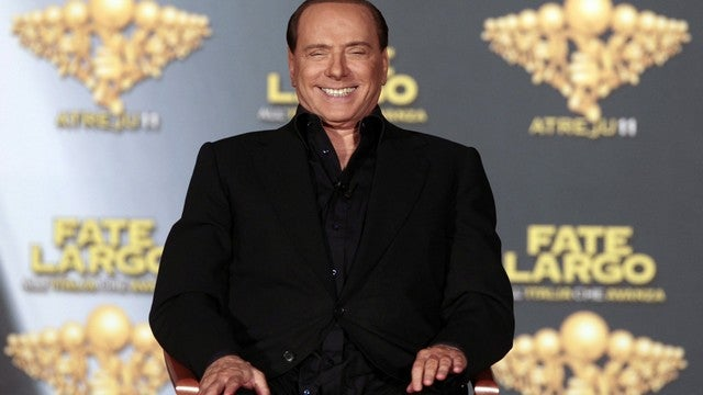 Silvio Berlusconi Slept With 8 Women In One Night, Claims Silvio Berlusconi