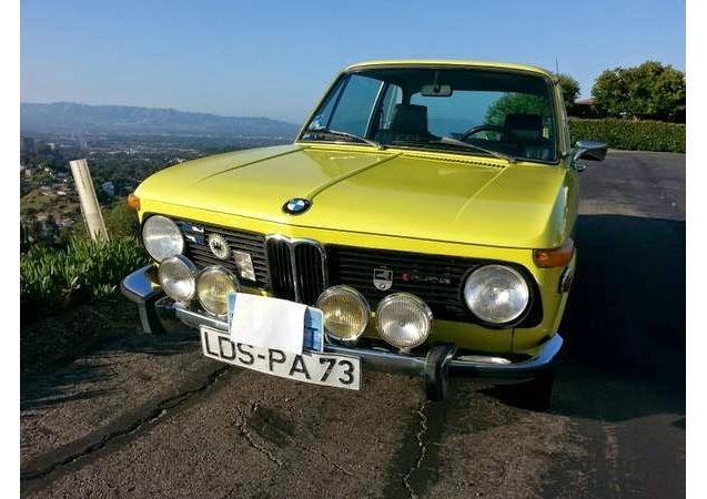 Michele's 1973 BMW 2002 - The Schmetterling