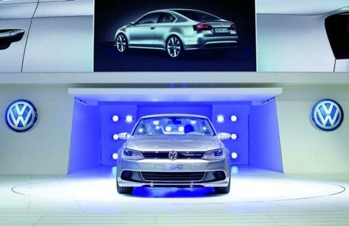 Gallery: Volkswagen Compact Coupe Concept 2010 Detroit Auto Show