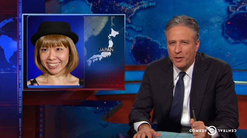 """Here's Jon Stewart Saying """"Vagina"""" Over and Over and Over"""