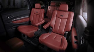 2015 Dodge Durango Looks Awesome With The Challenger's Red Interior