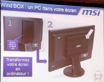 MSI Wind Box Converts Any VESA Monitor Into All-In-One Computer