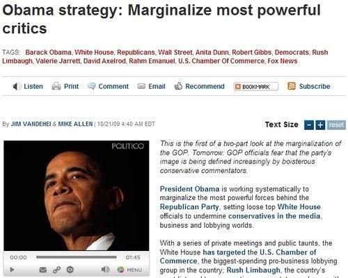 Politico Reports On Story Politico Invented