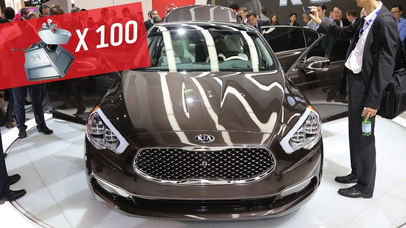 The Kia K900 Is A Korean BMW Named After A Robot Dog