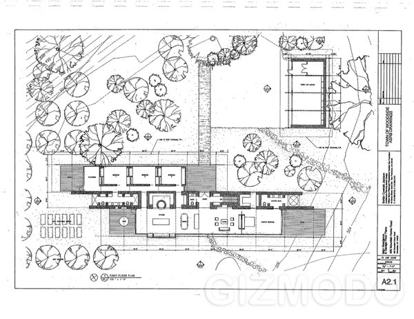 Exclusive: The Plans For Steve Jobs' New House