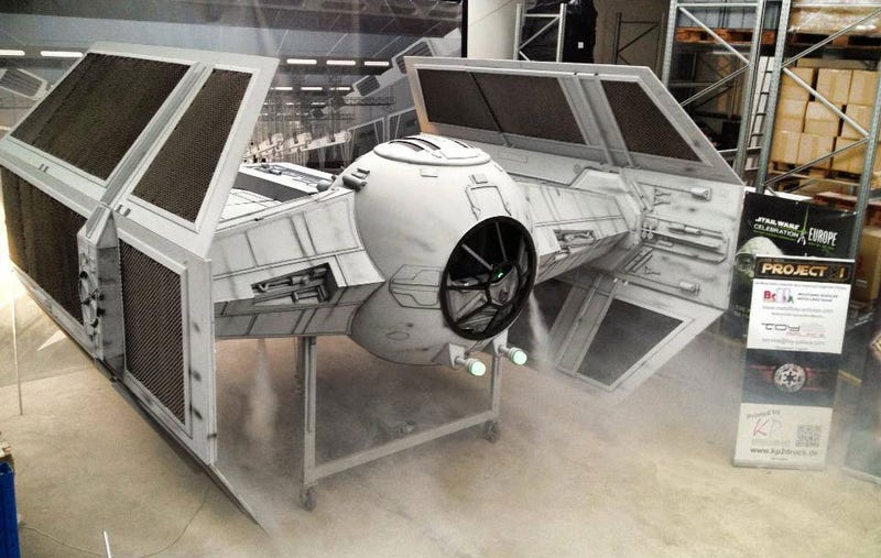 Oh, It's Nothing, Just A Life-Sized Tie Fighter Replica